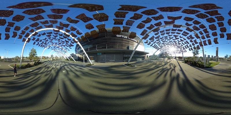 Optus Stadium, Perth.
