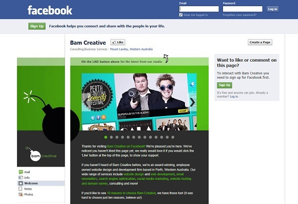 Bam Creative on Facebook