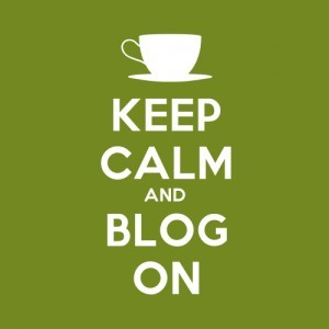 Keep Calm and Blog On by mkhmarketing