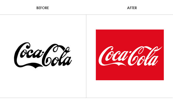 Why Established Brands Change Their Logo Bam Creative - Altered famous logos appear as if theyre effected by the products they sell